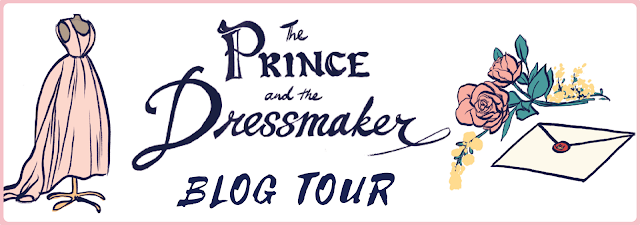 The Prince and the Dressmaker Blog Tour banner
