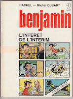 Hachel et Michel Dusart, benjamin tome 2, 1981