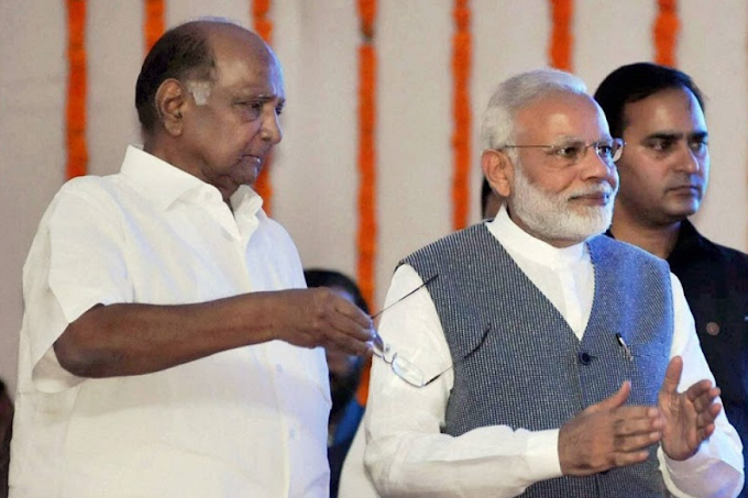 Ahead of NCP-Congress Talks on Maharashtra Govt Formation, Sharad Pawar to Meet PM Modi Today