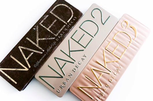 The NAKED Palettes - Swatches, Confronti e Review! ~ Glamorous MakeUp
