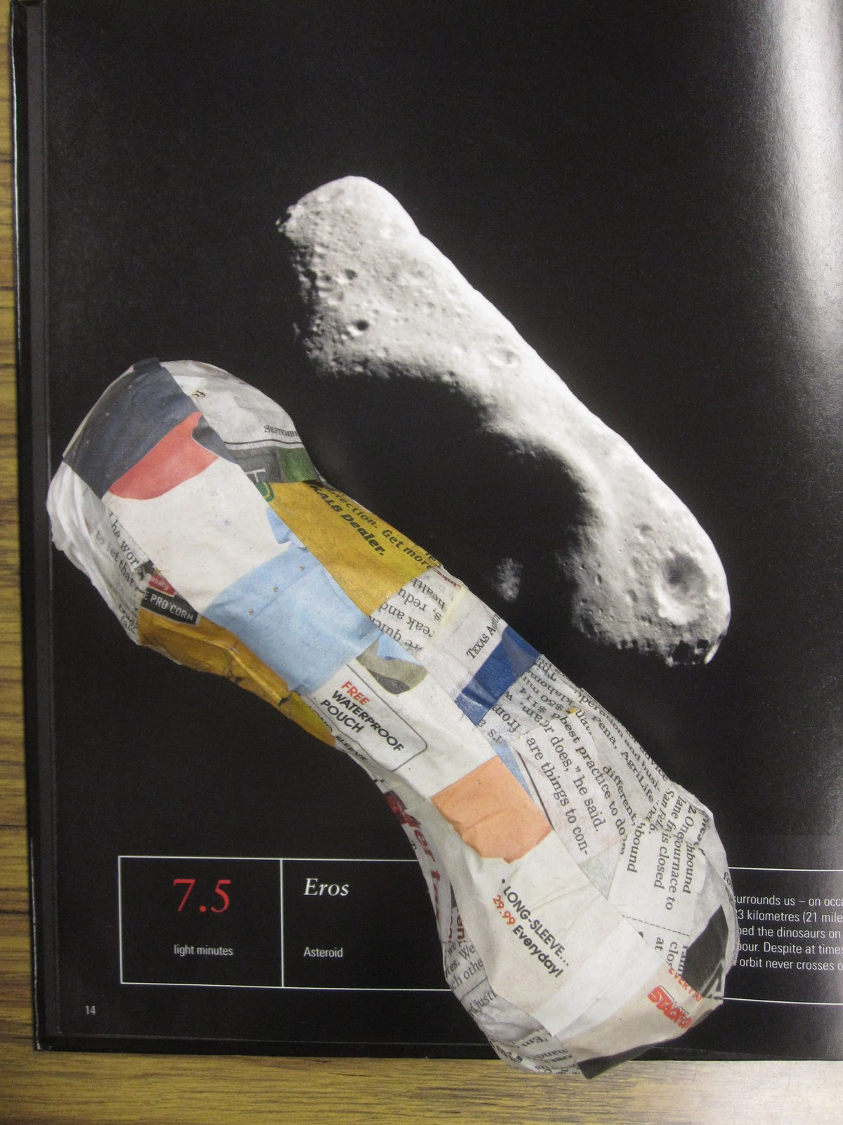 The GT Classroom: PAPER MACHE' PLANETS and ASTEROIDS PROJECT