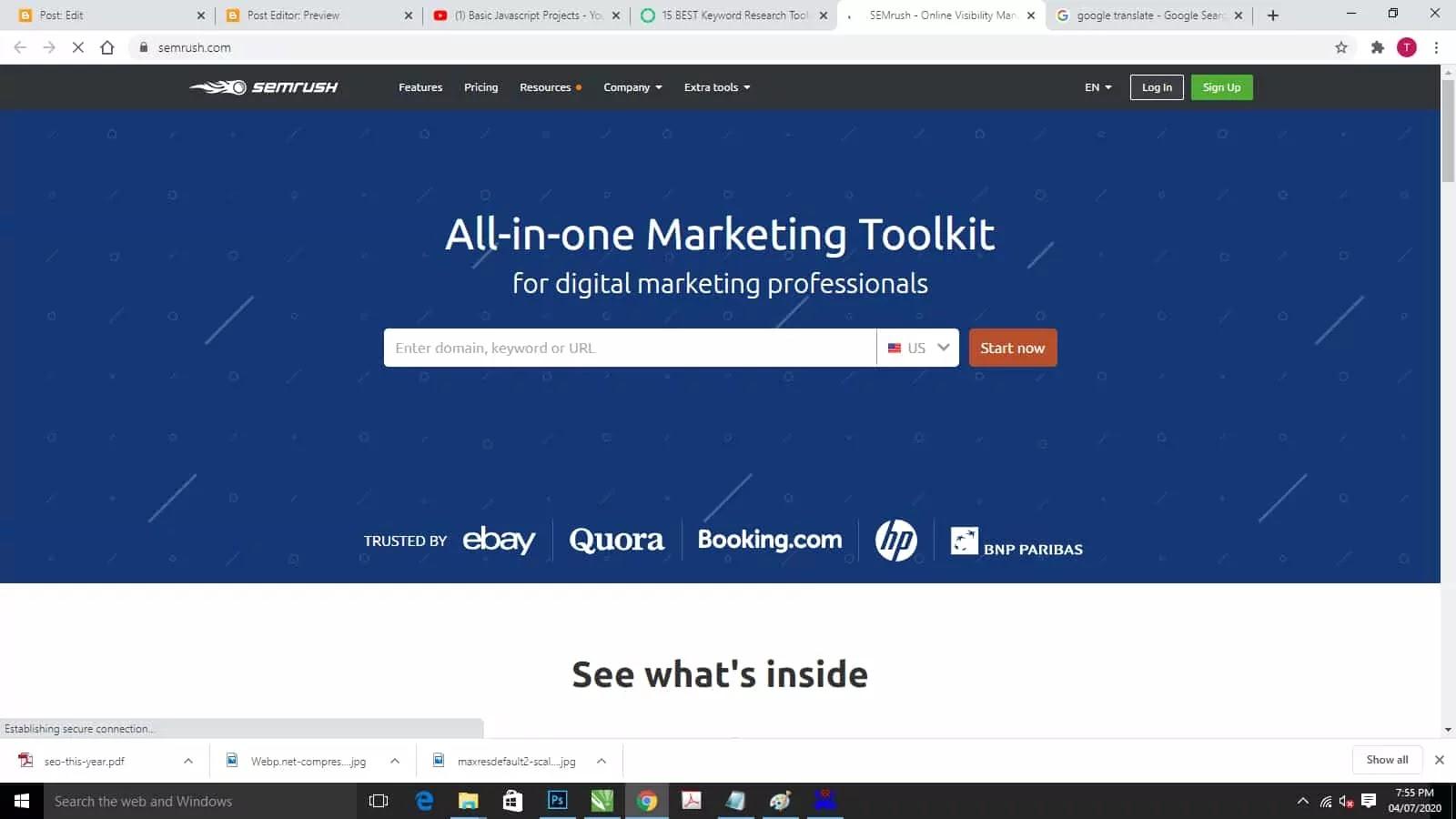 shemrush-keyword-research-tool