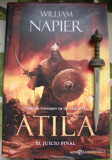 Portada del libro Atila. El juicio final, de William Napier