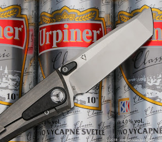Two Sun TS80 titanium frame-lock folder