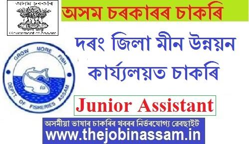 Fishery Development Officer, Darrang Recruitment 2019
