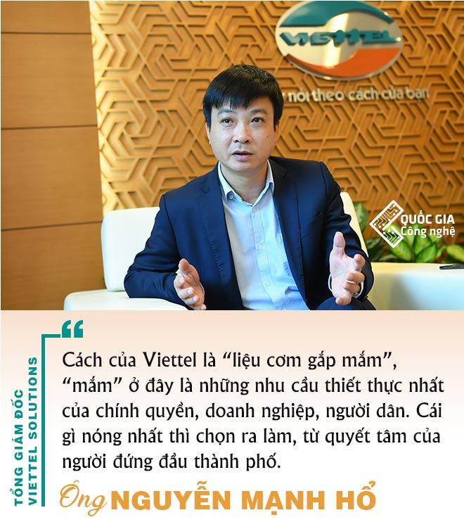CEO Viettel Solutions và Câu chuyện xây dựng thành phố thông minh - 02