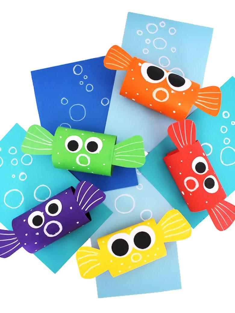 pufferfish under the sea craft