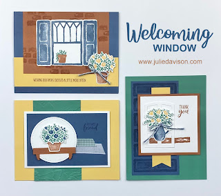 Stampin' Up! Welcoming Window Card  Kit~ January-June 2021 Mini Catalog ~ www.juliedavison.com