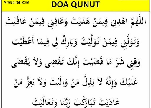 Manfaat Membaca Doa Qunut di Wabah Corona, Ampuh Insha Allah