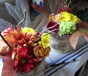 inexpensive flowers for Thanksgiving