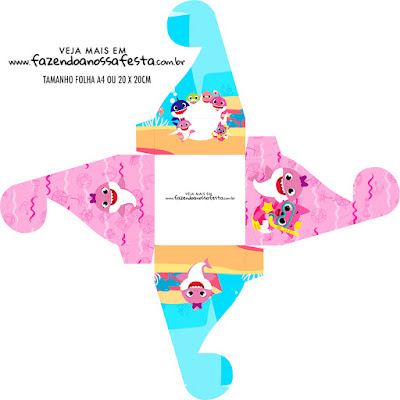 Baby Shark Free Printable Boxes.