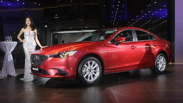 Mazda 6 do pha le tai viet nam