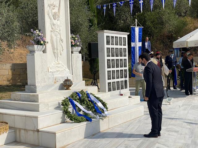 Μήνυμα Μ. Κάτση στην εκδήλωση μνήμης των 49 προκρίτων της Παραμυθιάς