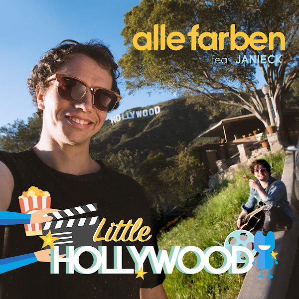 Alle Farben & Janieck - Little Hollywood - Single Cover
