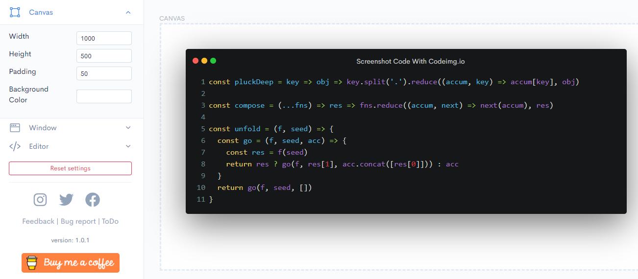 Cara Membuat Screenshot Code Menjadi Lebih Rapih Dengan Codeimg
