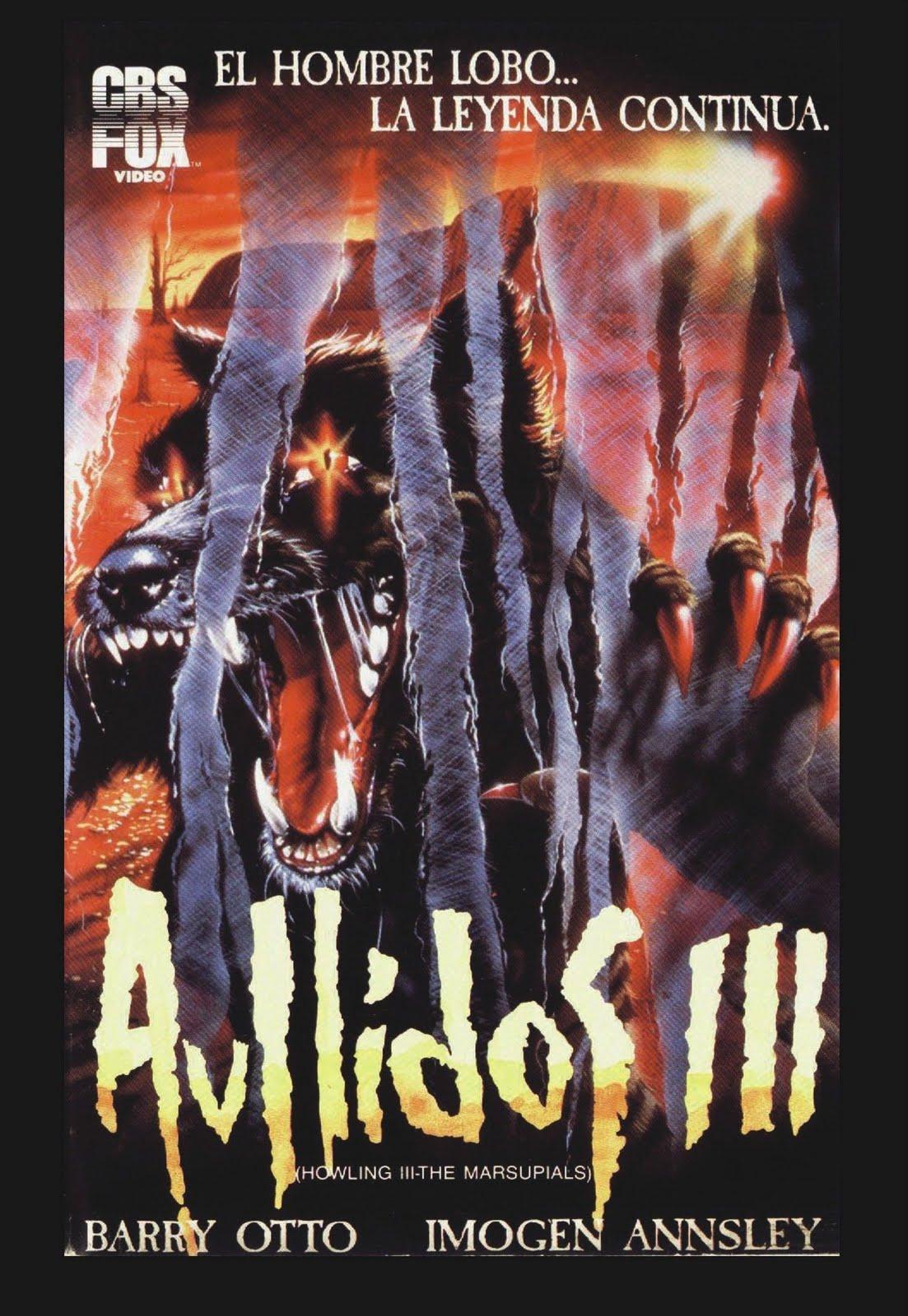 Los Marsupiales El Aullido 3 (1987) [1080p] [Español-Ingles] [MEGA]