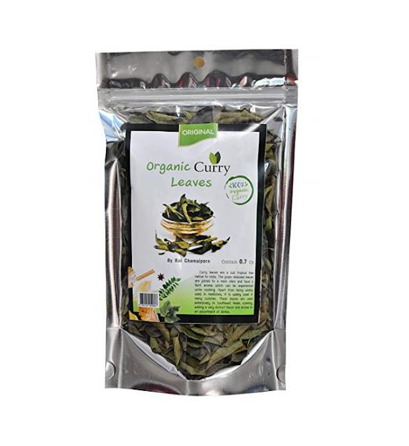 Organic Dried Curry Leaves 0.7Oz