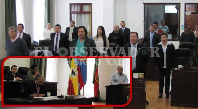 Concejo instaló sesiones extraordinarias sin el alcalde Malo