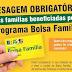 BATAGUASSU  Saúde convoca famílias beneficiárias do Programa Bolsa Família para pesagem obrigatória