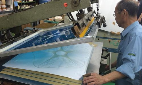 Studio Rutan Terapkan Teknik Print Otot Menauggi Kap Lampu Horatio
