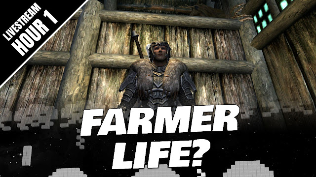 SKYRIM 2020 Gameplay! NEW START (Hour 1) The Farm and Exploring the WORLD!