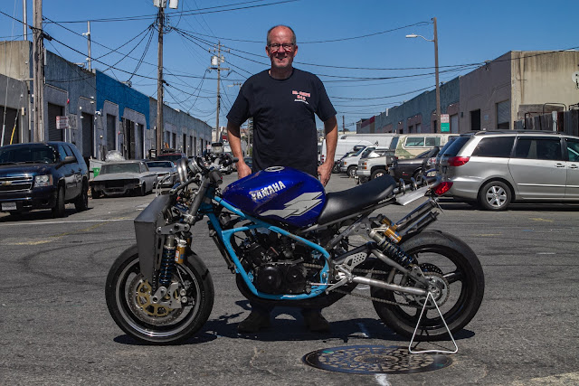 Julian Farnam Dirtbag Rat Yamaha Banshee RZ350 Dirtbag Challenge 2019