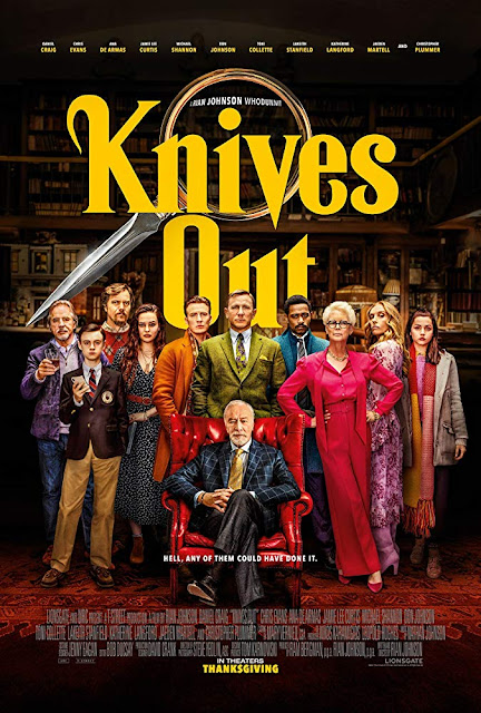 Knives Out HD movie poster