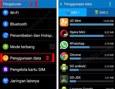 Apps Banyak Makan Data