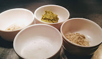 Salt, white pepper, green chili paste and cardamom powder Food Recipe Dinner ideas