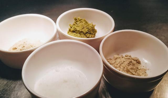 Salt, white pepper, green chili paste and cardamom powder Food Recipe Dinner ideas