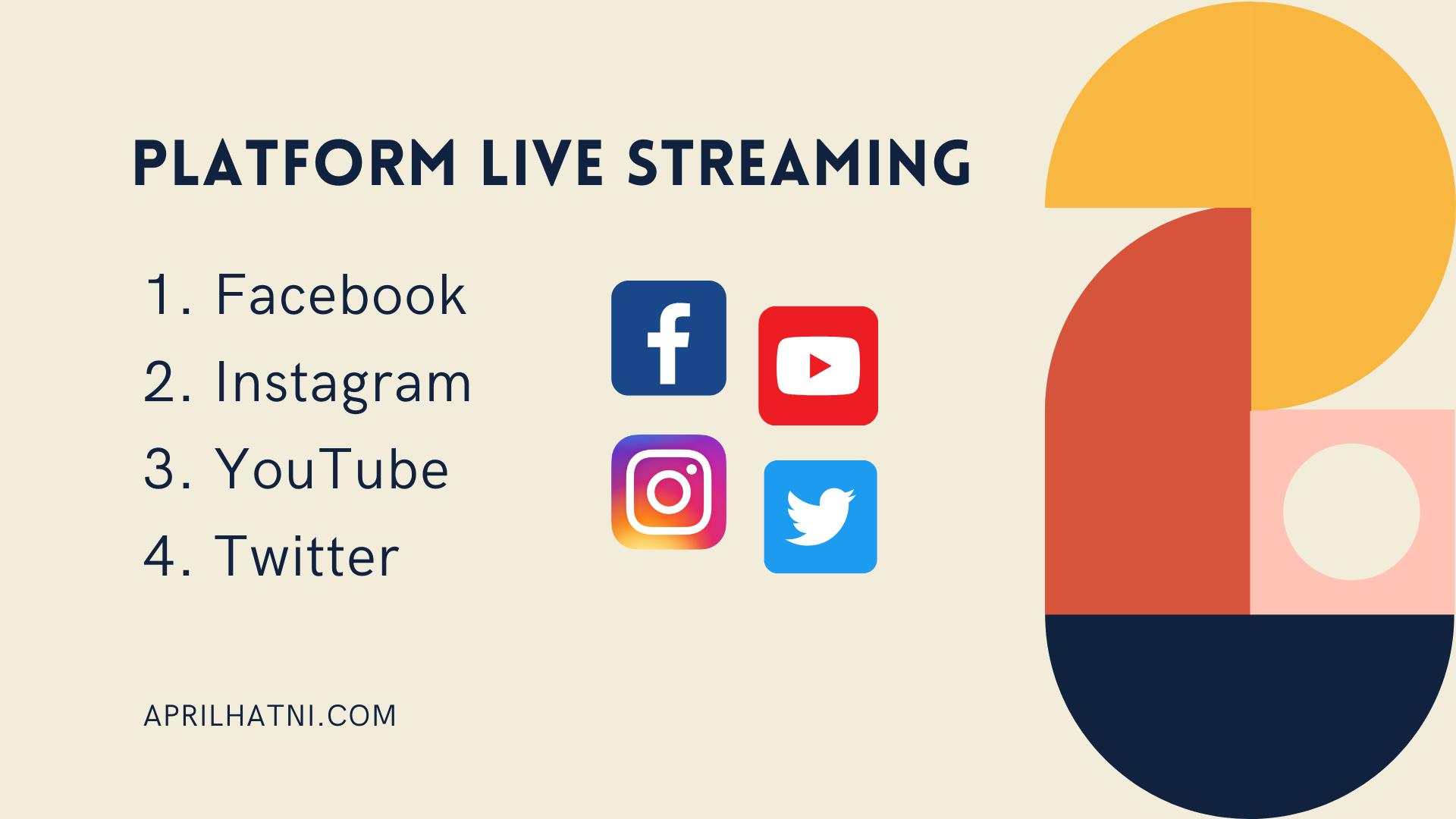 platform live streaming