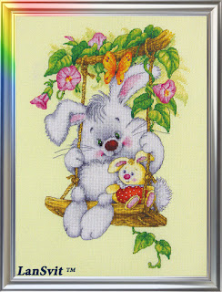 Cross-stitch Lan Svit D-007 «Sunny Bunny»