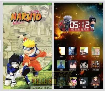 Naruto Xiaomi Themes