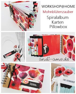 Stampin Up Workshop Materialpaket für daheim