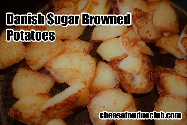 北欧風シュガーブラウンポテトのレシピ