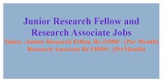 Junior Research Fellow and Research Associate Jobs DRDO – INMAS
