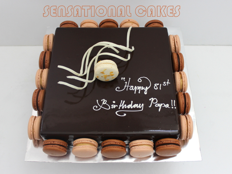 Salted Caramel Birthday Cake Singapore