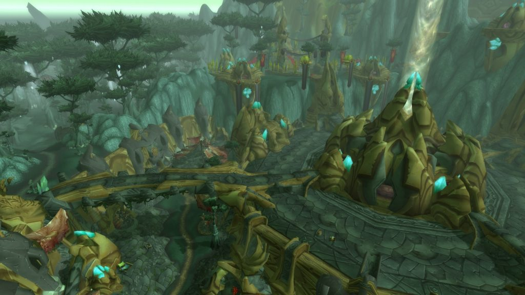 Shattrath - The heart of Outland.