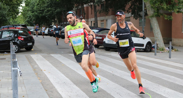 Eric Monasterio y Clara Bernadi logran la victoria en la 5ª Cursa Besòs-Maresme