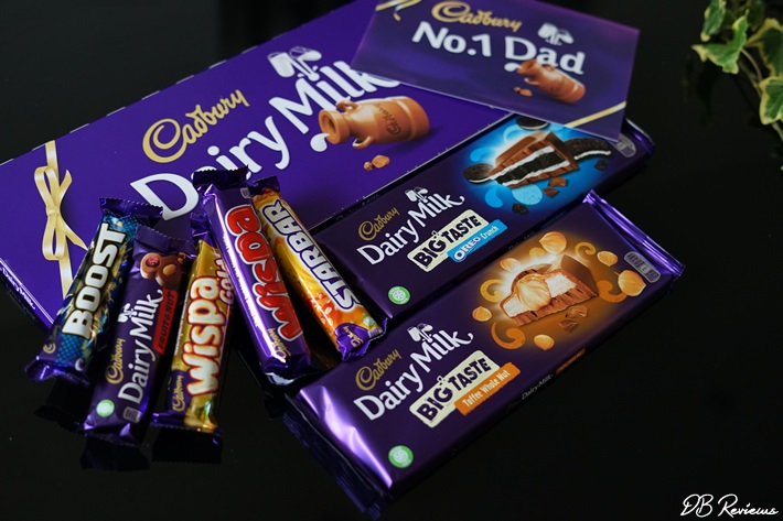 Chocolates for Dad from Cadbury
