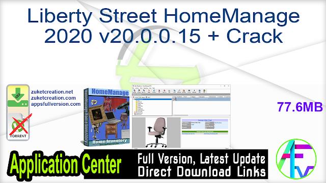 Liberty Street HomeManage 2020 v20.0.0.15 + Crack