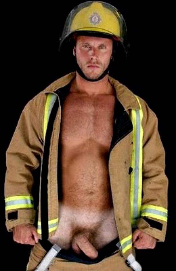 Real firemen nude