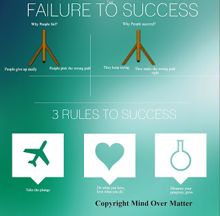 failure to success Infographic