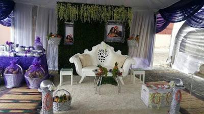 Oritsefemi and Nabila Fash's traditional wedding photos