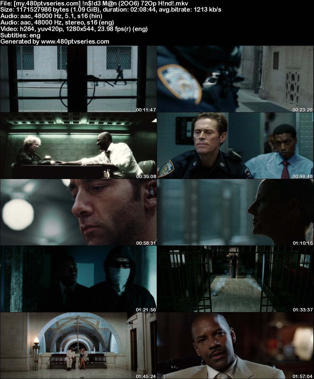 Download Inside Man (2006) 1GB Full Hindi Dual Audio Movie Download 720p Bluray Free Watch Online Full Movie Download Worldfree4u 9xmovies