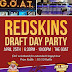 Redskins Draft Party at GOAT