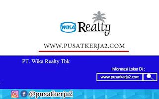 Lowongan Kerja SMA SMK D3 S1 PT Waskita Karya Realty September 2020
