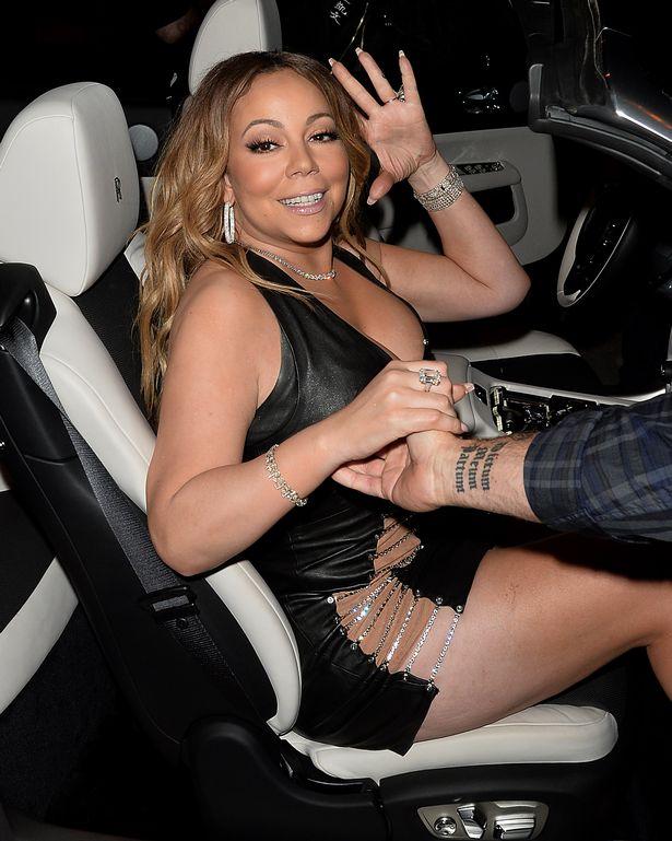 Mariah Carey cuts an exuberant figure 1