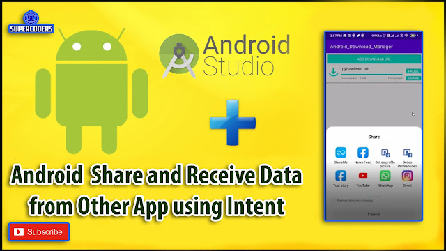 Android File Share and Receive from Other App