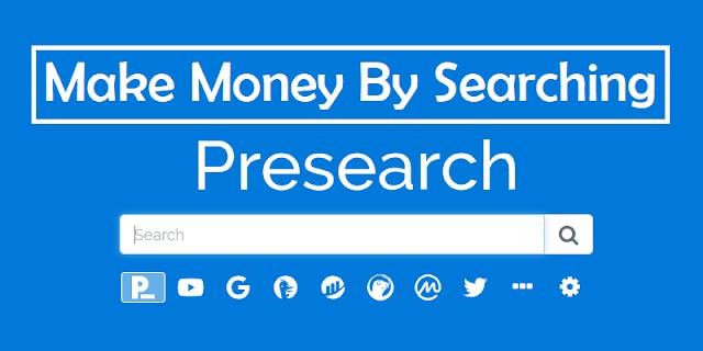 ব্রাউজারে কোন কিছু Search করলেই ডলার জমা হবে - Presearch এ সার্চ করে আয় করুন